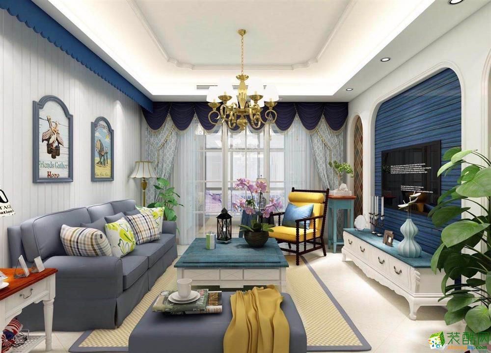 三室两厅/地中海装修案例效果图
