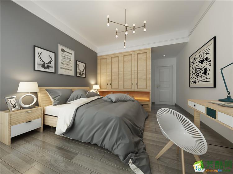 臥室【佳居裝飾】105平方現代簡約風格裝修效果圖 【佳居裝飾】105