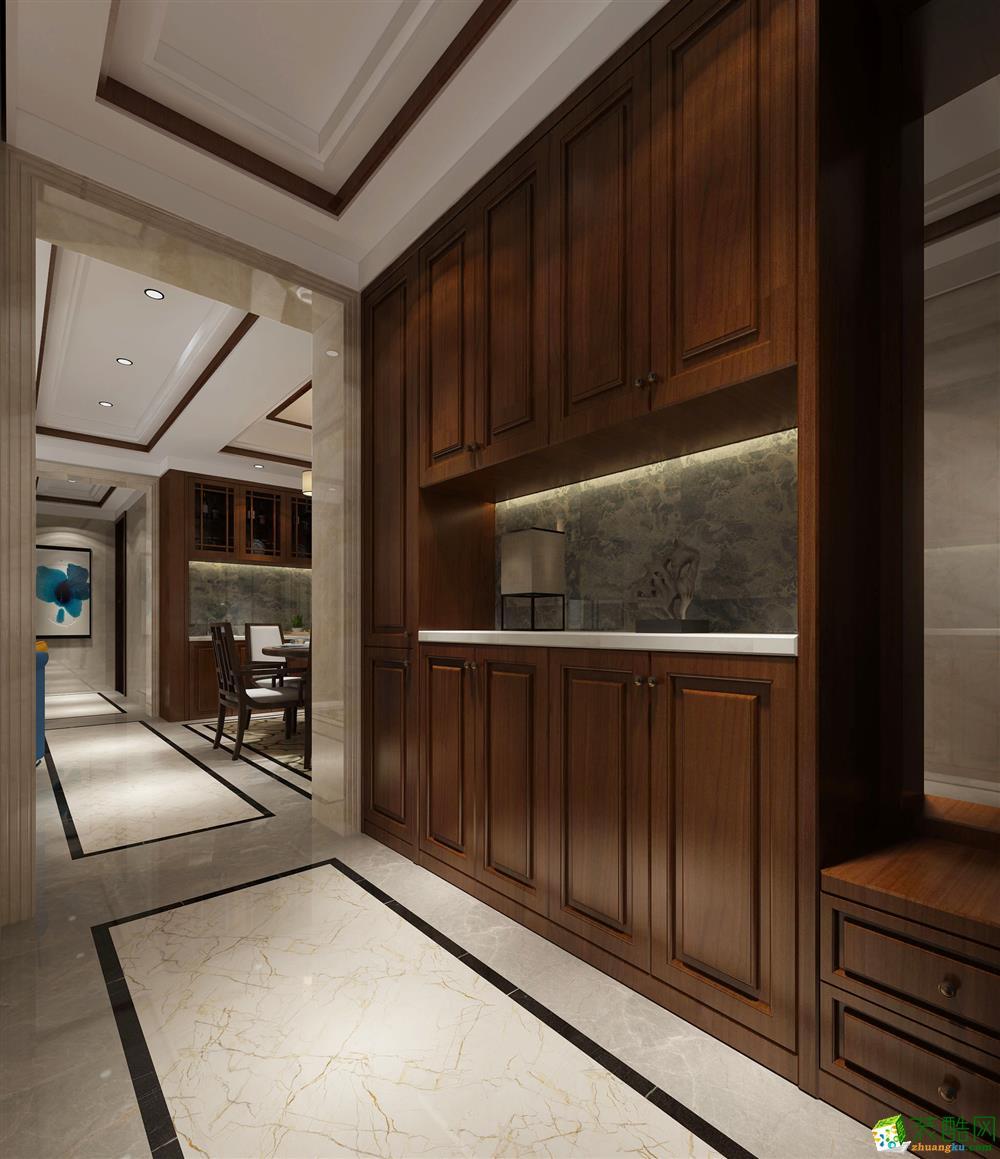 南宁108方四室两厅装修―荣和千千树中式风格作品