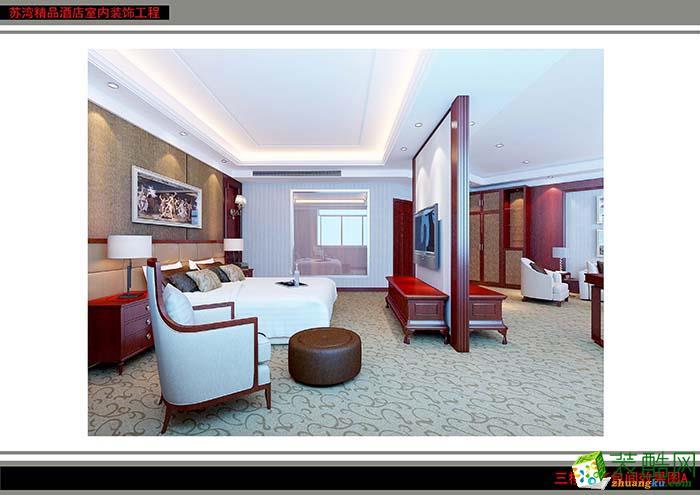 合肥450平米酒店宾馆装修—苏湾精品酒店作品