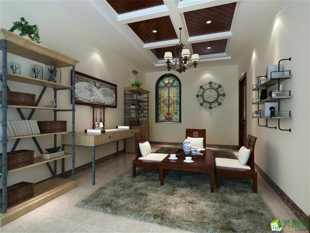 客厅  一品漫城浅山别墅设计案例