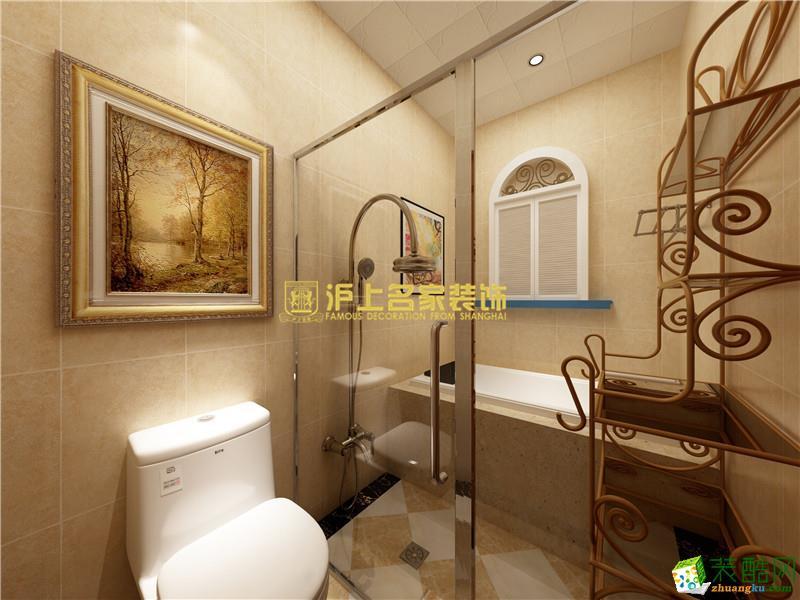 【沪上名家装饰】东润泰和146平方美式装修效果图
