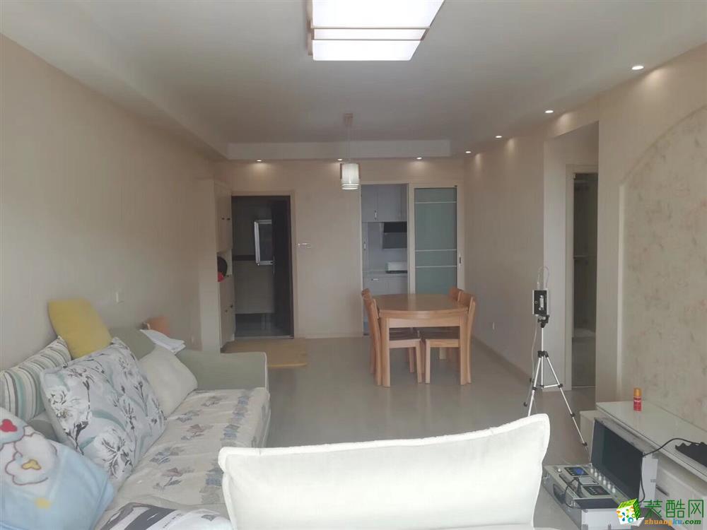 十堰80平米含柜子灯具家具窗帘两室两厅―汉城天地简约风整装