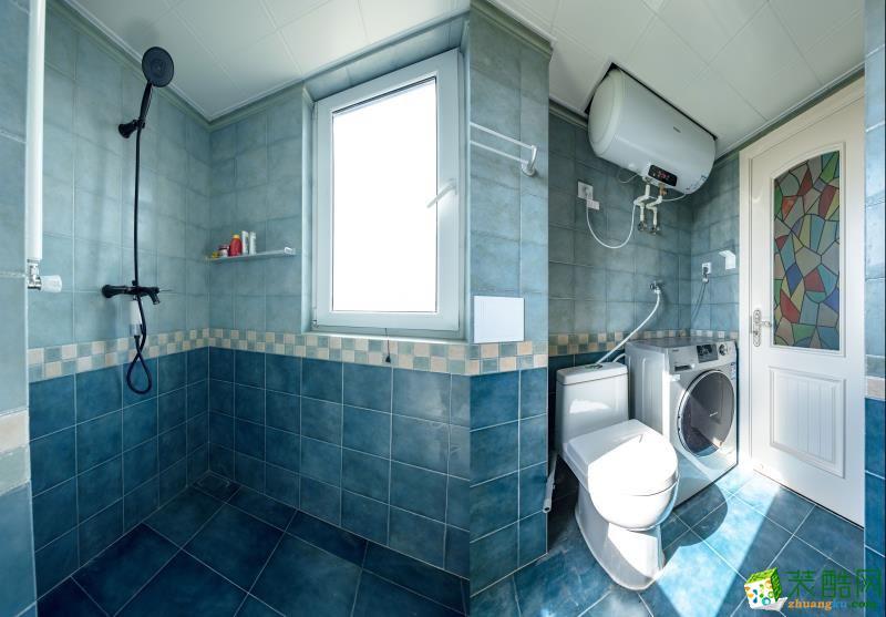 卫浴 重庆90平米装修--佳天下装饰地中海风格三室一厅装修案例效果图赏析 【佳天下装饰】---奥园越时代
