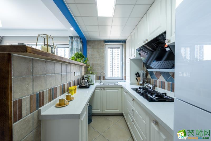 厨房 重庆90平米装修--佳天下装饰地中海风格三室一厅装修案例效果图赏析 【佳天下装饰】---奥园越时代