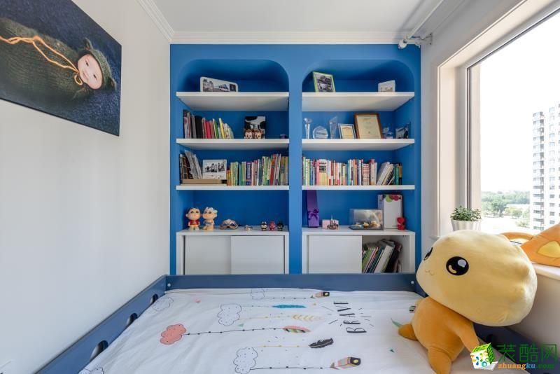 儿童房 重庆90平米装修--佳天下装饰地中海风格三室一厅装修案例效果图赏析 【佳天下装饰】---奥园越时代
