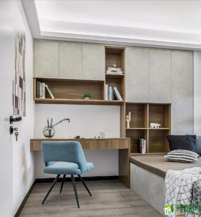 重庆90平米装修--佳天下装饰首创城三室两厅装修北欧风格装修案例效果图赏析