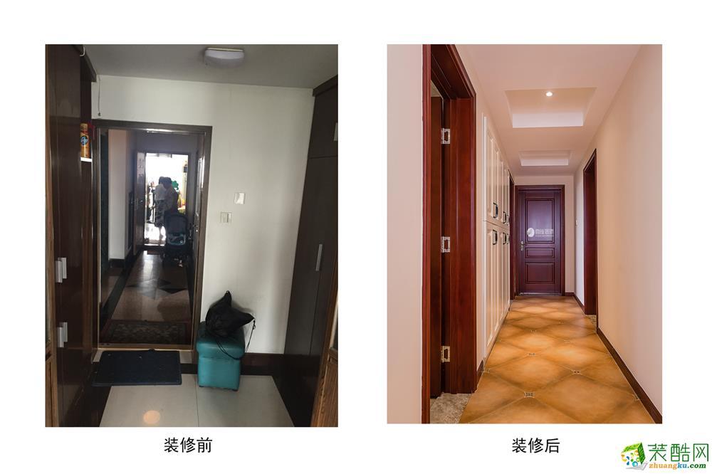 杭州150方三室两厅老房翻新―【喜雀装饰】星洲花园二手房翻新