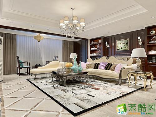 唯美豪华160�O欧式家装风格