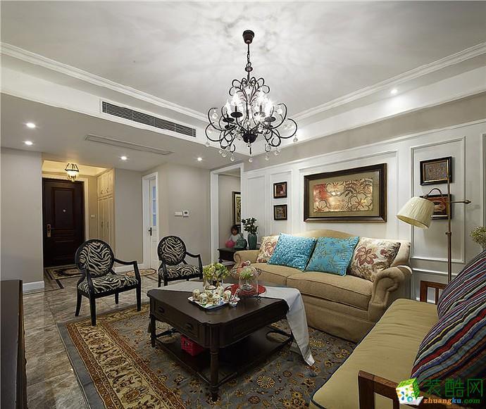武汉139方三室两厅两卫装修―金地天悦法式风格设计作品