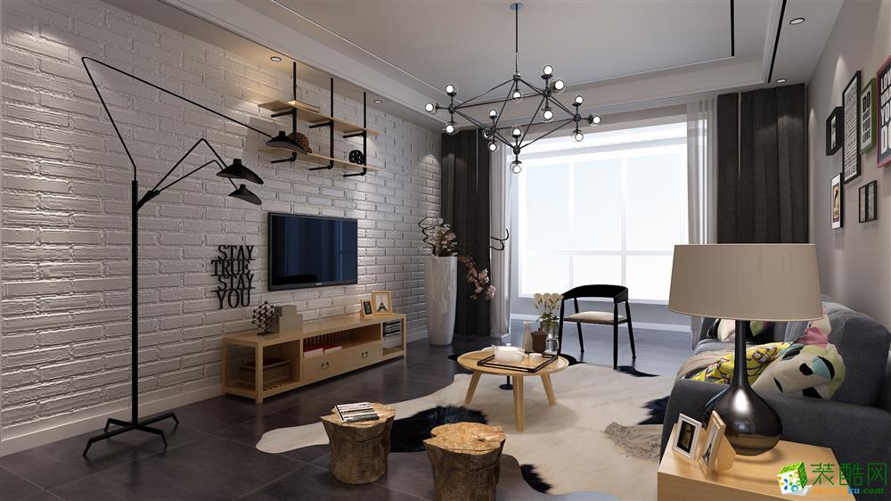武汉131方三室两厅装修―江夏鸿发世纪城简约风格作品