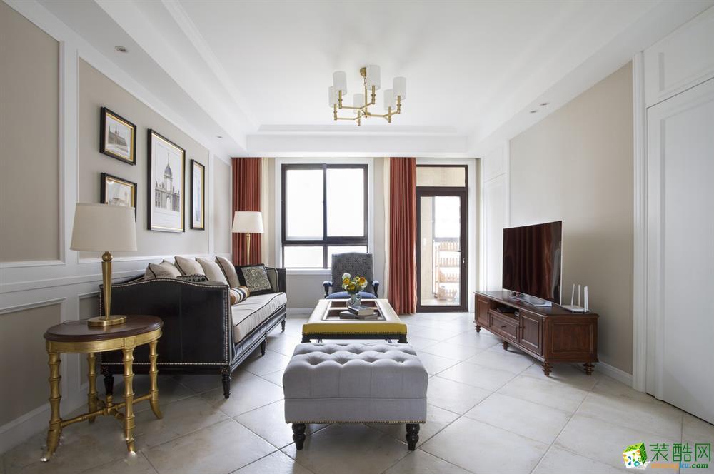 武汉158方四室两厅装修―汉阳世茂锦绣长江简美风格作品
