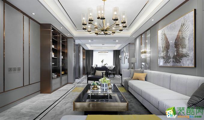 武汉148方四室两厅装修―中国铁建国际花园城现代风格作品