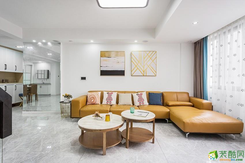 杭州200方跃层装修―星海云庭北欧风格设计作品