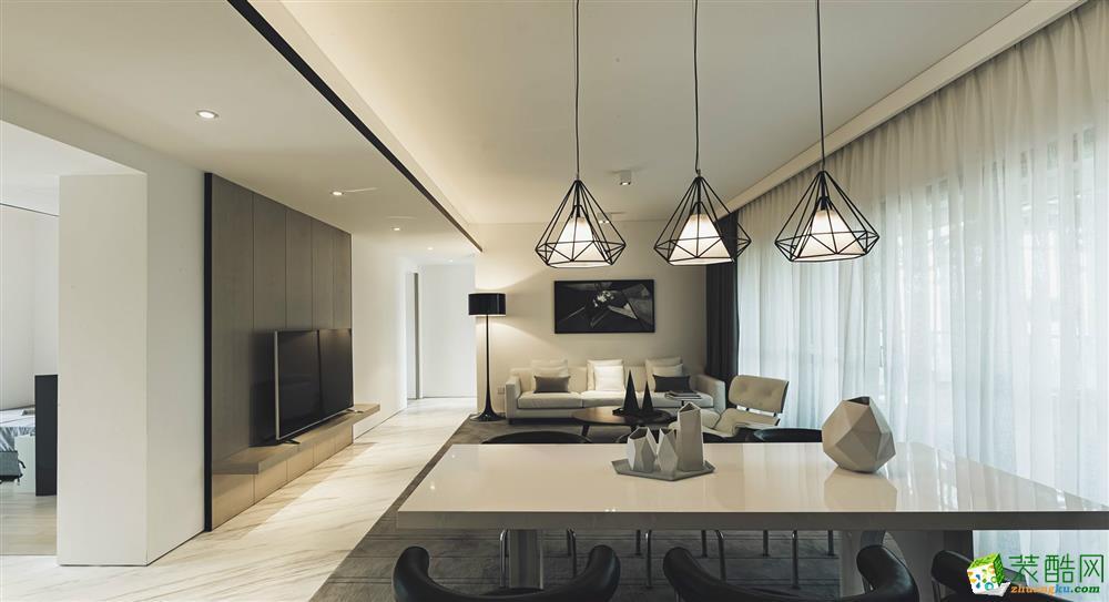 重庆100平米--维享家装饰协信・星澜汇三室一厅装修 现代风格效果图赏析