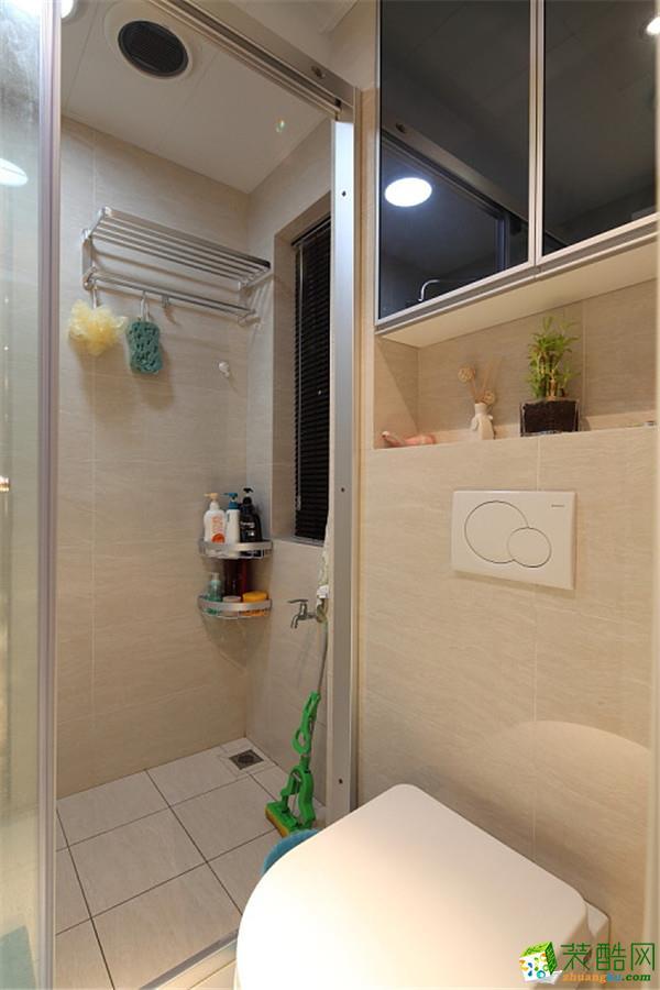 杭州20㎡翻新—开放式厨房+卫生间翻新设计作品