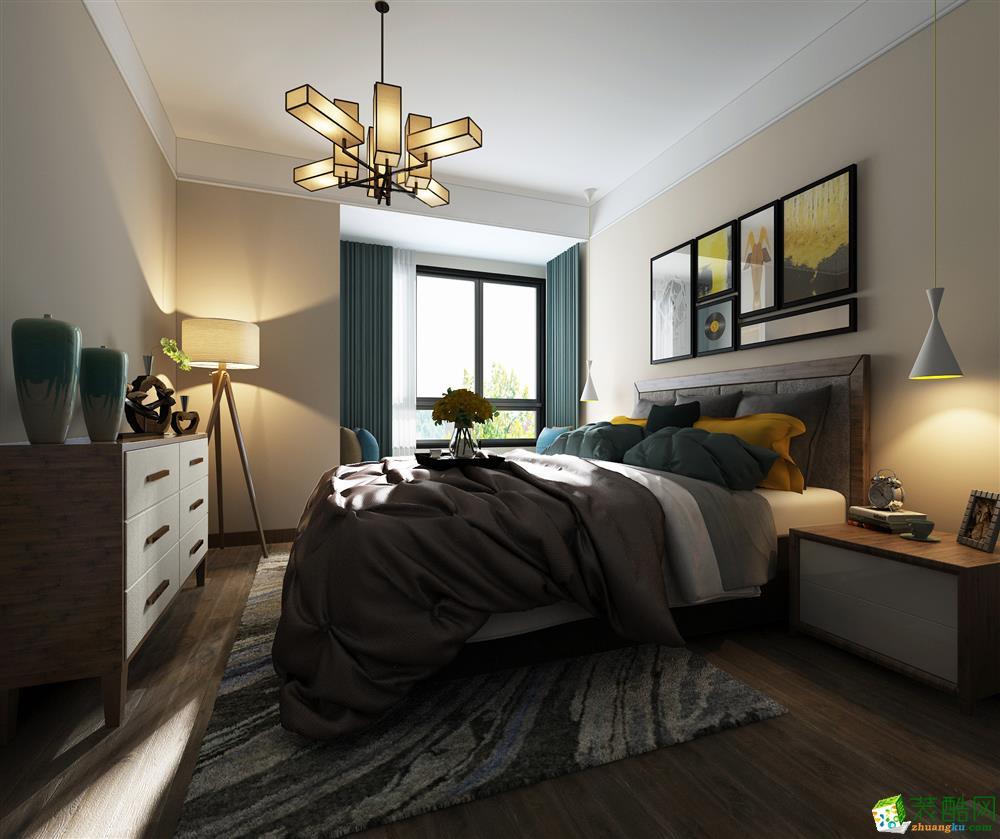 南宁134方三室两厅装修―国宾壹号现代风格作品