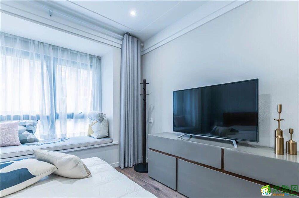 卧室  新传奇装饰-125平简约风高质感装修效果图