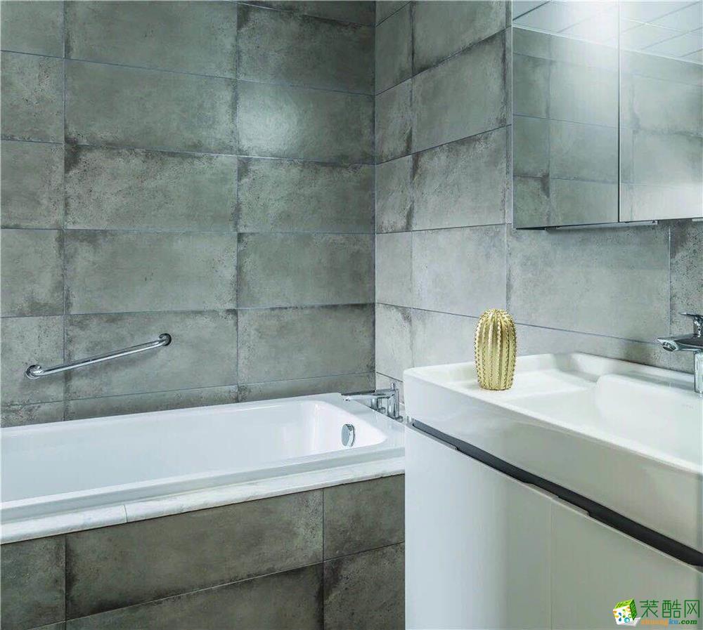 卫浴  新传奇装饰-125平简约风高质感装修效果图