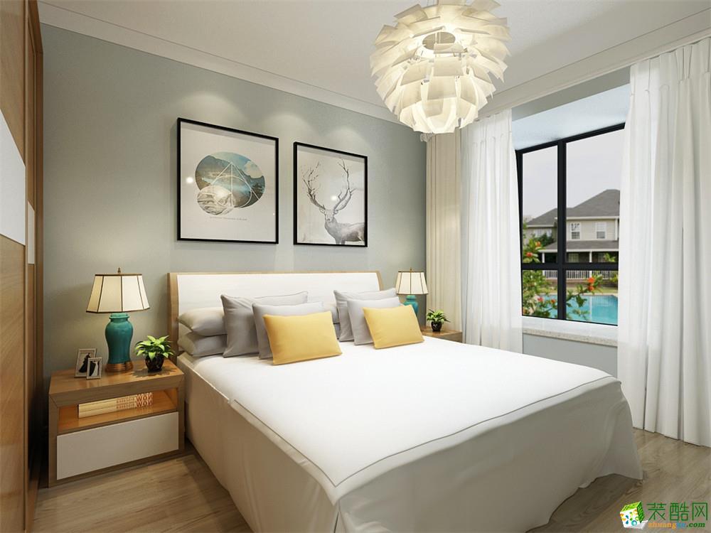 天津83方两室两厅装修―远洋香奈北欧风格设计作品