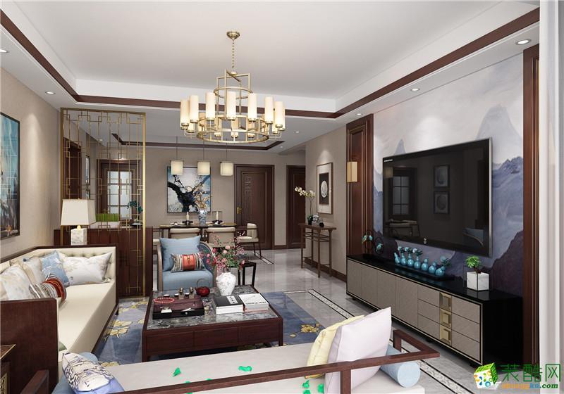 118三居室新中式风格