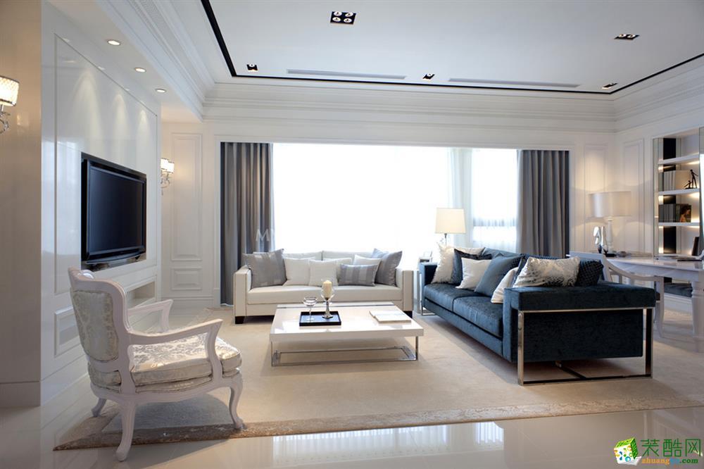 绵阳161�O四室两厅装修―奥林春天简欧风格设计作品