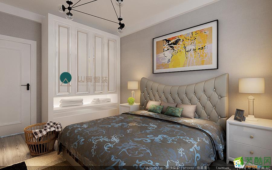 天津70方两室一厅装修―宝宇天邑澜湾北欧风格设计作品