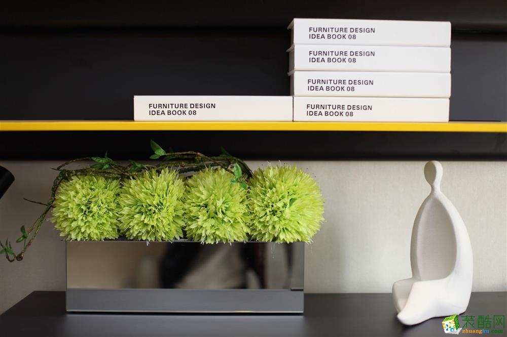 申远装饰-荣安诚品园112平方3室装饰案例效果图