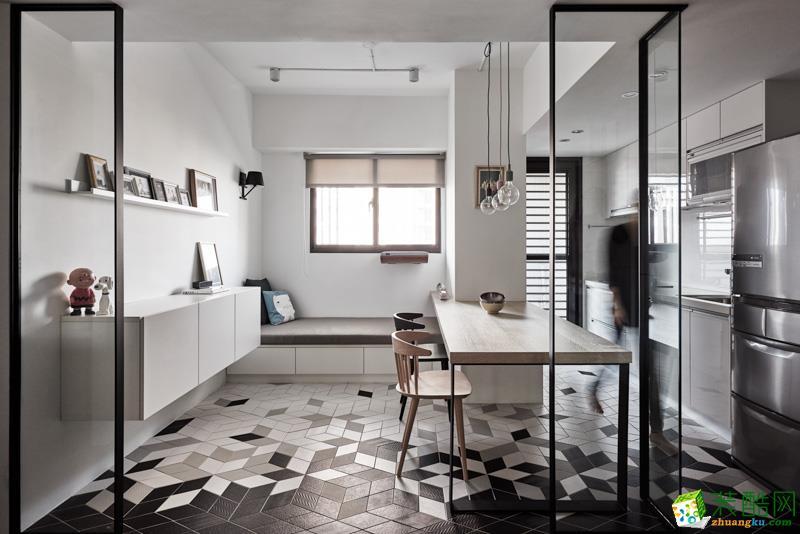 安徽章龙装饰工程有限公司-两室两厅一卫