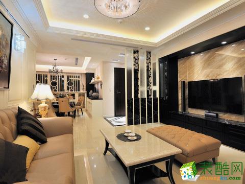 苏州139方三室两厅装修―水韵花都新古典风格设计作品