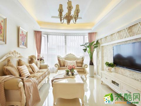 苏州119�O三室两厅装修―青剑湖公馆简欧风格设计作品