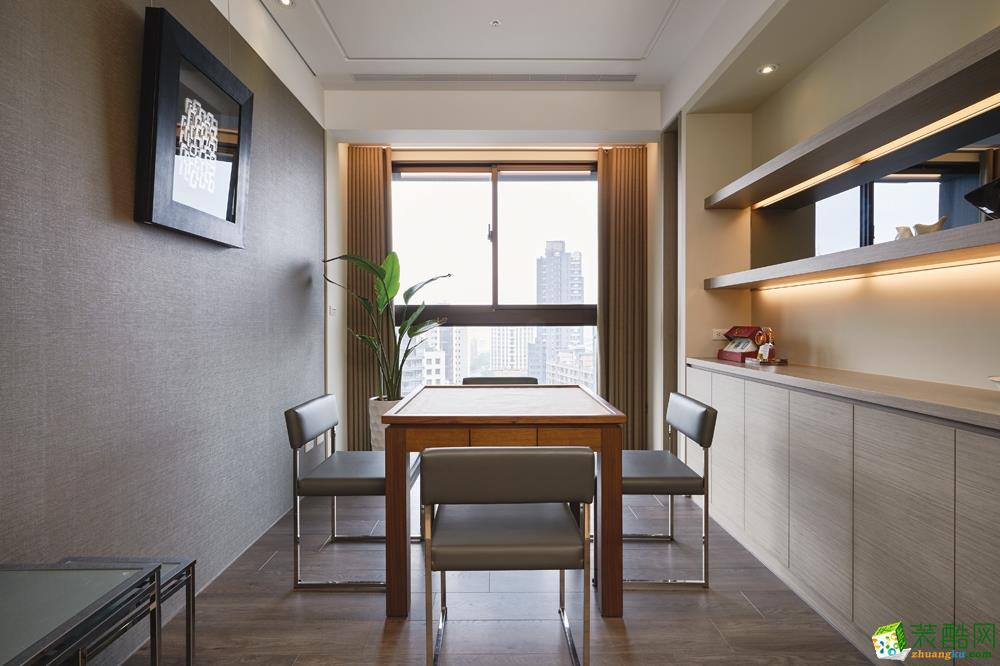 >> 苏州98㎡三室一厅装修—现代简约风格设计作品图片