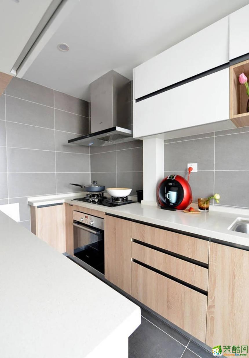 岳阳米果装饰-92平米北欧两居室装修案例