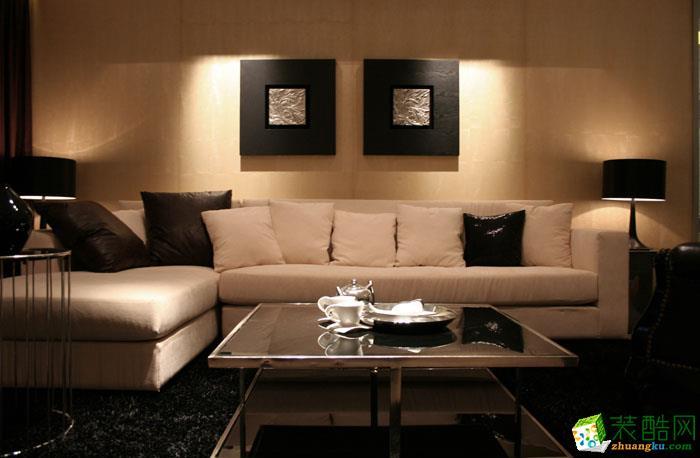 诺亿装饰-绿地城68平米两室两厅装修