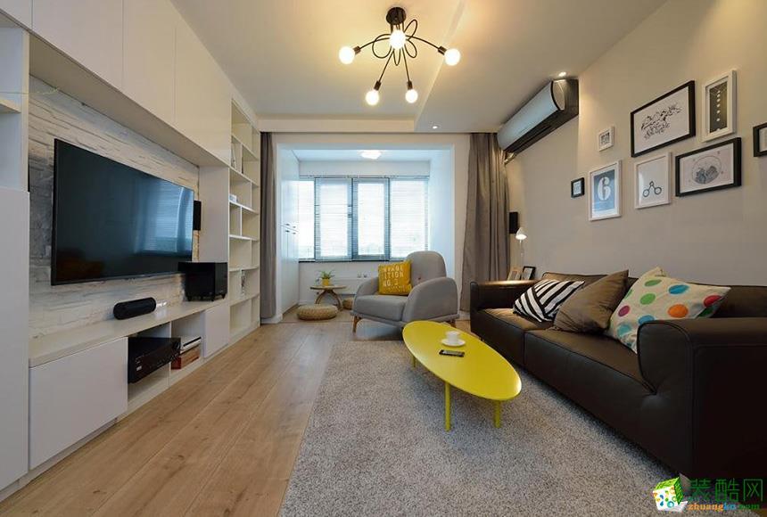 岳阳未来家装饰-85平米现代简约两居室装修案例