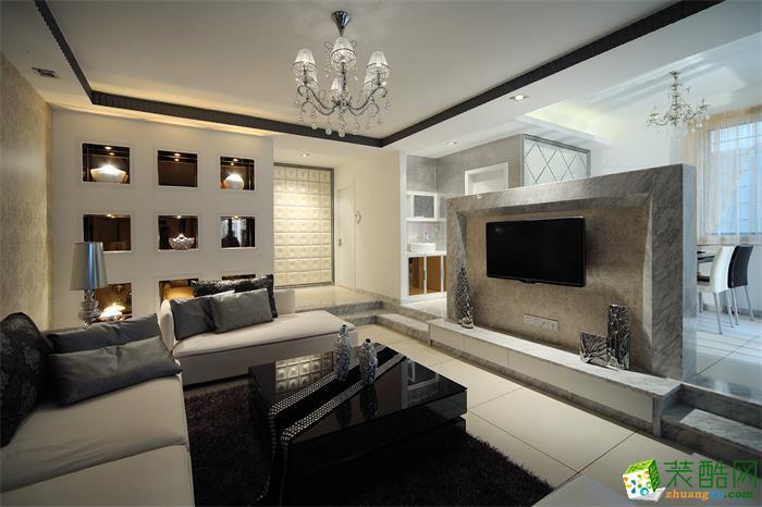 诺亿装饰-望山国际65平米两室一厅装修