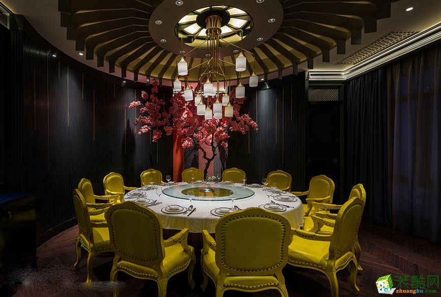 合肥酒楼餐厅装修―宴西塘1600方餐饮门店设计作品