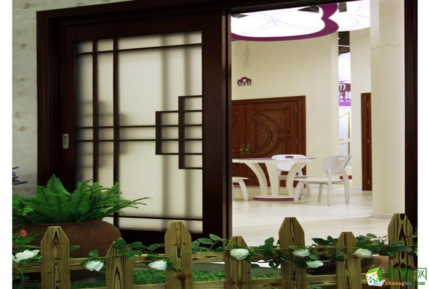 合肥门店展厅装修―佳洁斯门业200�O展厅设计作品