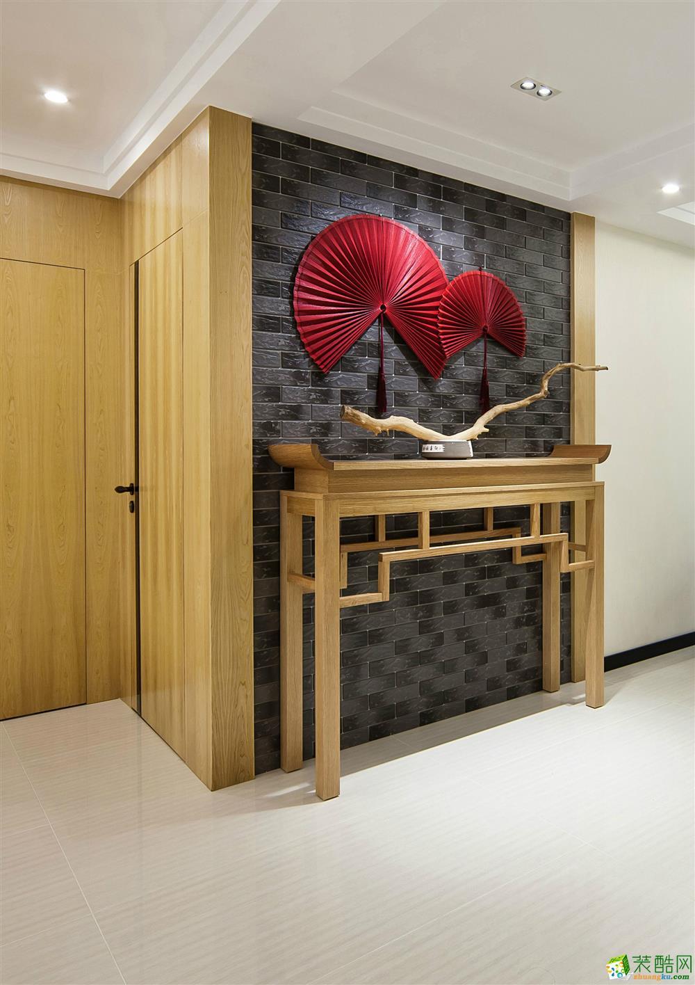 合肥121方两室两厅装修―章龙装饰 新中式风格设计作品