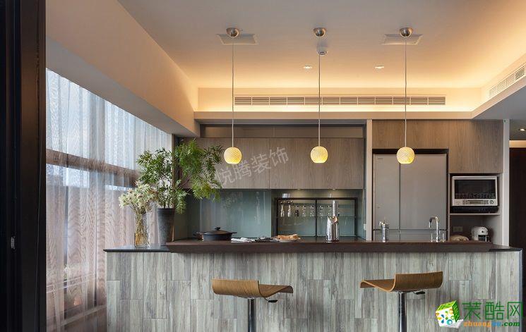苏州98�O三室一厅装修―日式风格设计作品