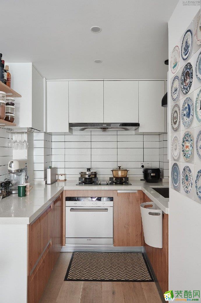 十堰89平米两室一厅装修―恒大北欧风格设计作品