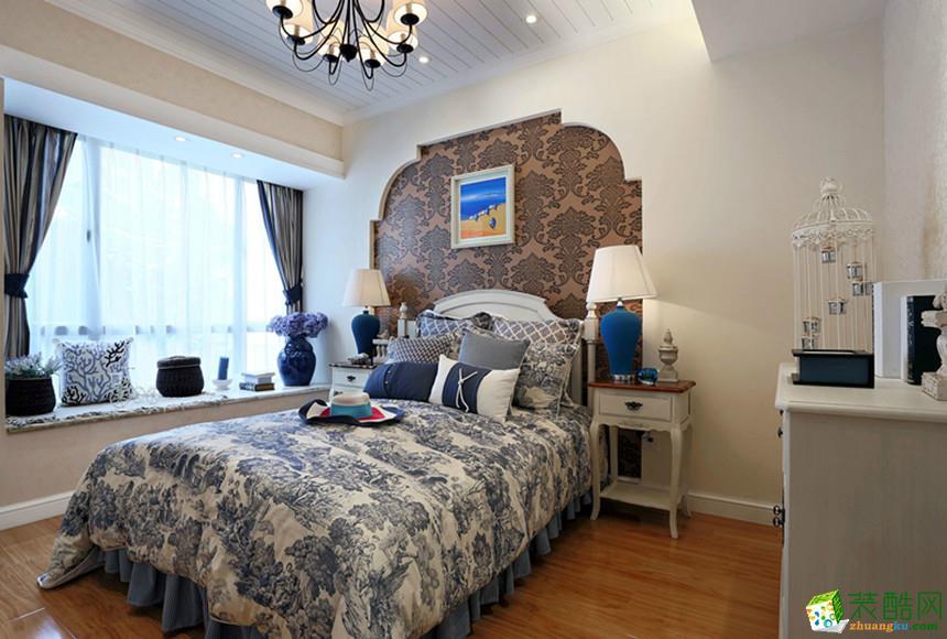 阜阳尚鼎装饰-95平米地中海两居室装修案例