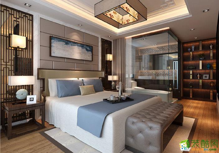 天一装饰-120平米中式三居室装修案例