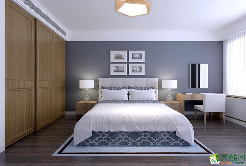 阜阳易家禾装饰-95平米北欧两居室装修案例