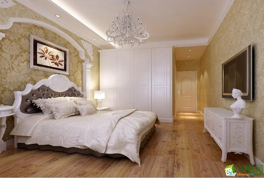 长沙千思装饰-130平米美式乡村三居室装修案例