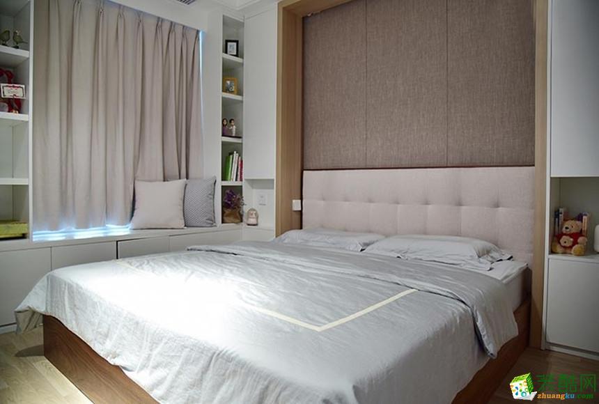 长沙点石家装-85平米现代简约两居室装修案例