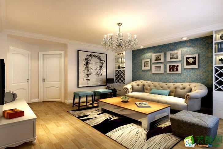 广州110平米装修--华浔品味装饰 现代风格三室两厅装修案例