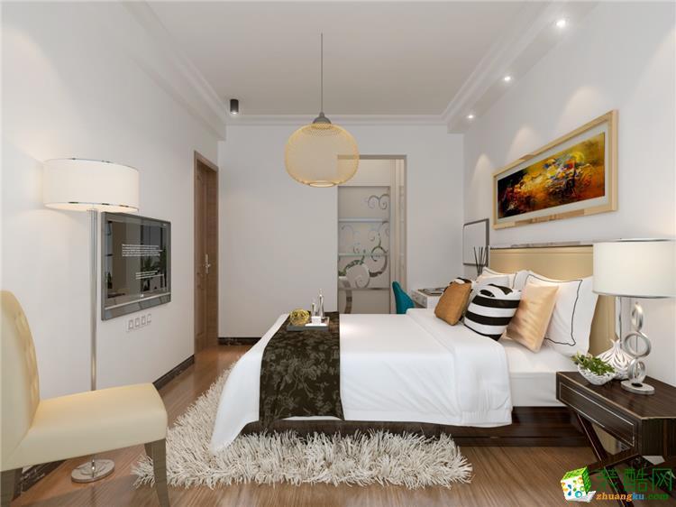 臥室【華潯品味裝飾】100平方現代簡約風格裝修效果圖 【華潯品味裝飾