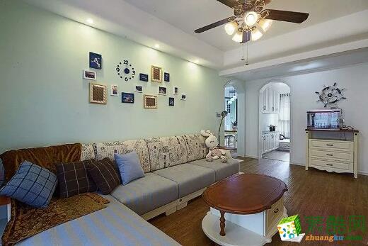 〖宜之美〗紫晶悦城96平米两室两厅一卫装修