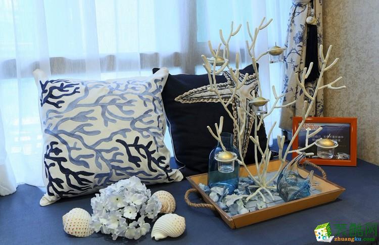 贵阳180平米装修--凯瑞馨装饰 乐湾国际三室两厅装修 现代简约风格装修案例效果图赏析